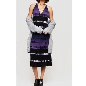 Lou & Grey Shibori  midi dress